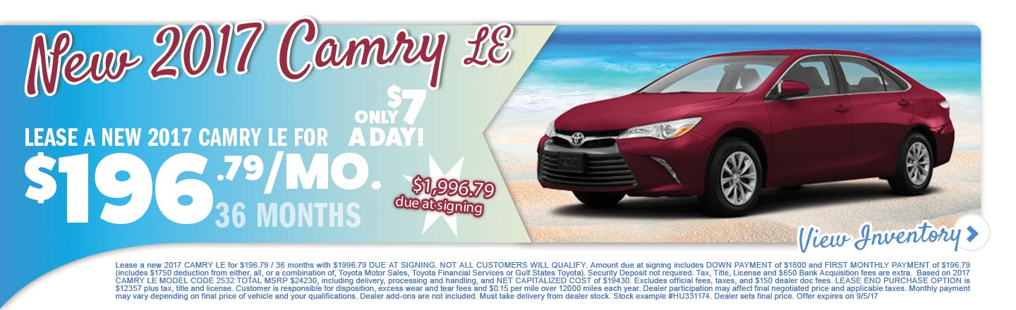 Camry Deal